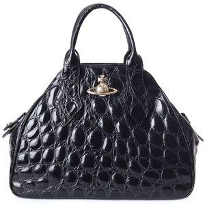Vivienne Westwood Crocodile Shoulder Bag